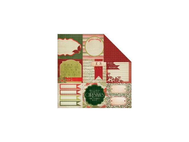 Christmas Carol Double-Sided Cardstock 12