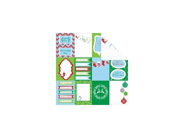 Santa's List Double-Sided Cardstock 12