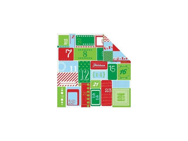 Santa's List Double-Sided Cardstock 12
