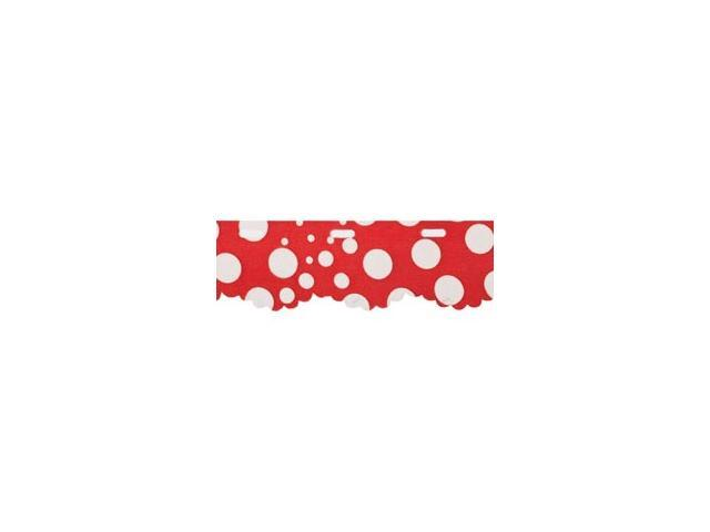 Red Heart Boutique Sassy Fabric Yarn-Red Dot