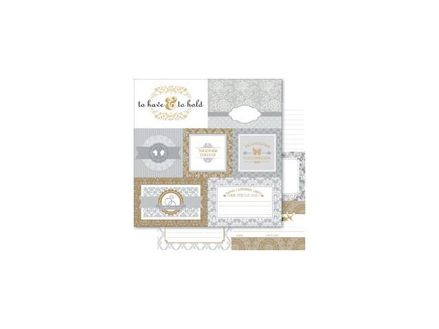 Bella! Betrothed Double-Sided Cardstock 12