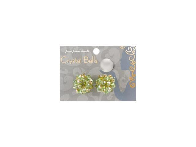 Crystal Ball Bead Cluster 6mm 2/Pkg-Style 9