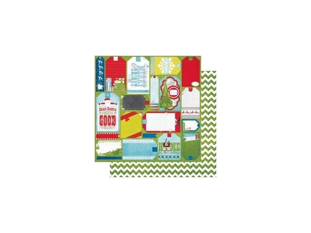 Elf Magic Double-Sided Cardstock 12