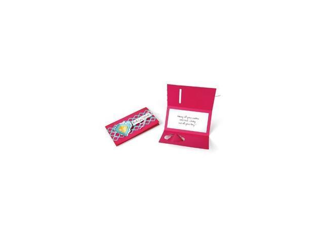 Sizzix Thinlits Dies 4/Pkg-Card/Folding Closure & Accents