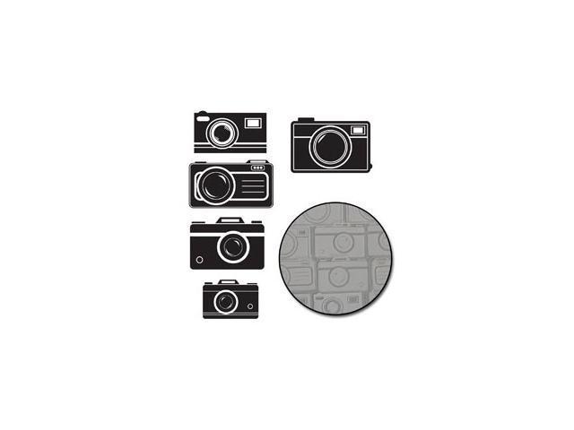 Transparencies Die-Cuts 15/Pkg-Picture Perfect Camera; White