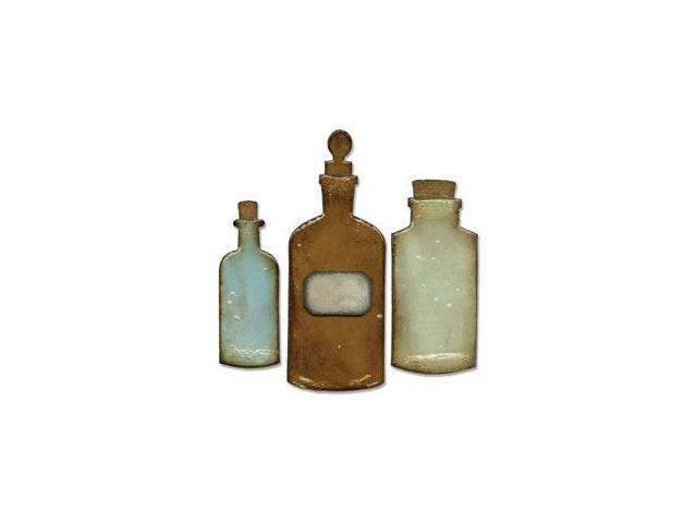 Sizzix Bigz Die By Tim Holtz-Apothecary Bottles