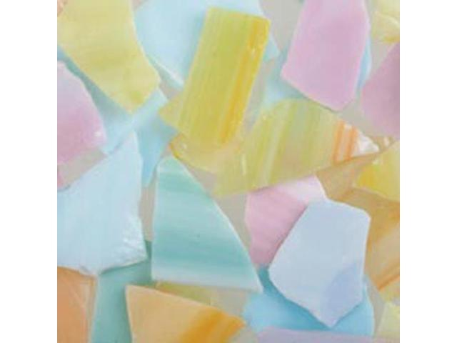 Mosaic Glass 20 Ounce Value Pack-Pastel Colors