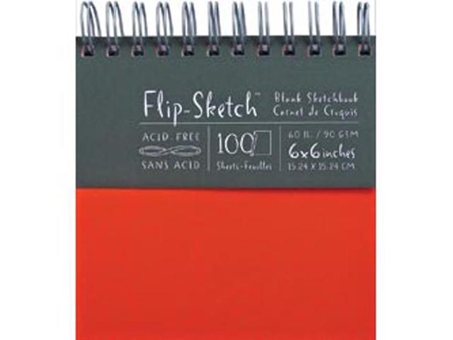 Flip-Sketch Blank Sketchbook 6