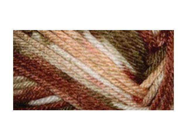 Everyday Anti-Pilling Soft Worsted Prints Yarn-Oak Moss