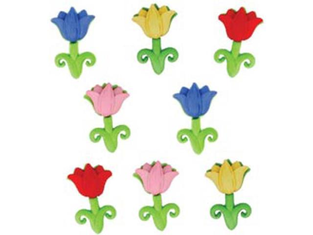 Dress It Up Holiday Embellishments-Easter Tulips