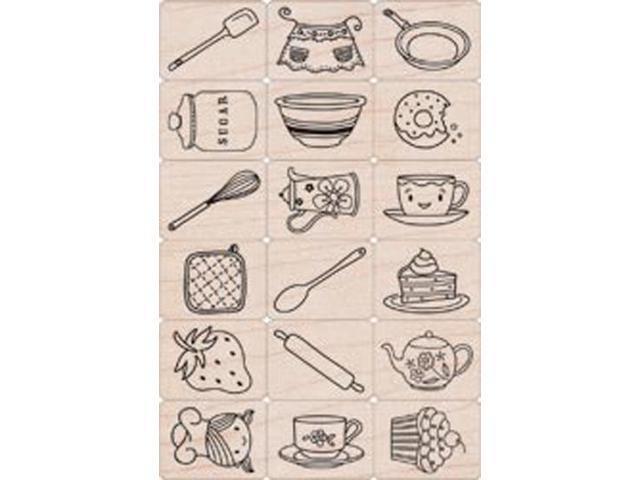 Hero Arts Ink 'n Stamp Tub-Cook It