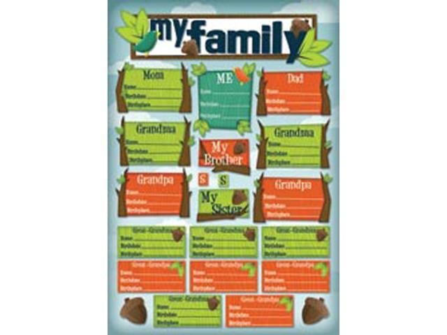 Kids' Ancestry Cardstock Stickers 5.5