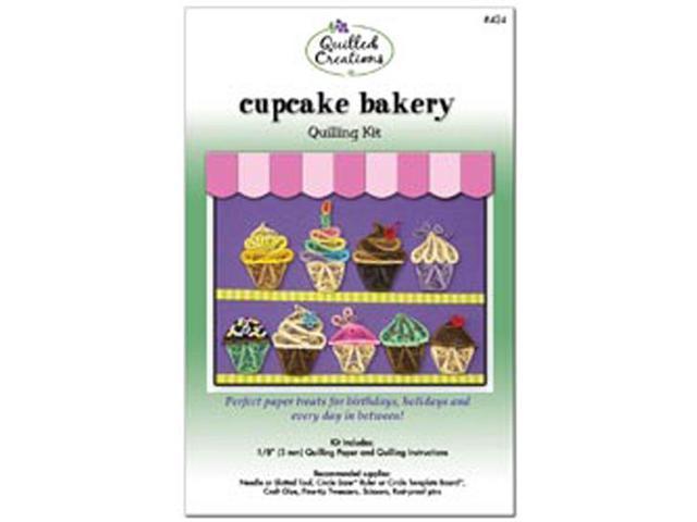 Quilling Kit-Cupcake Bakery