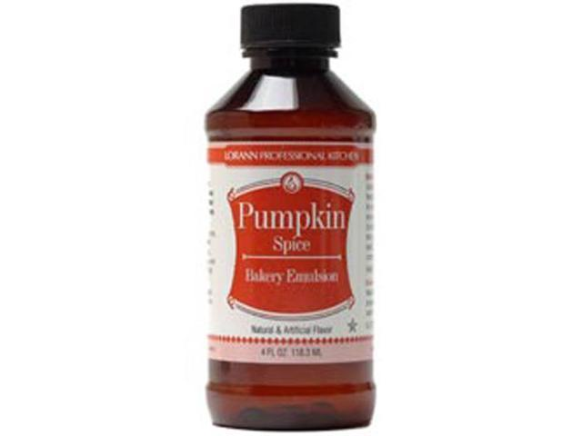 Bakery Emulsions Natural & Artificial Flavor 4oz-Pumpkin