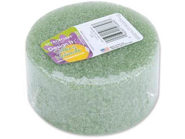 "Styrofoam Disc Arranger 3-7/8""X1-15/16"" 1/Pkg-Green"