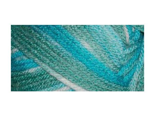Everyday Anti-Pilling Soft Worsted Prints Yarn-Lagoon