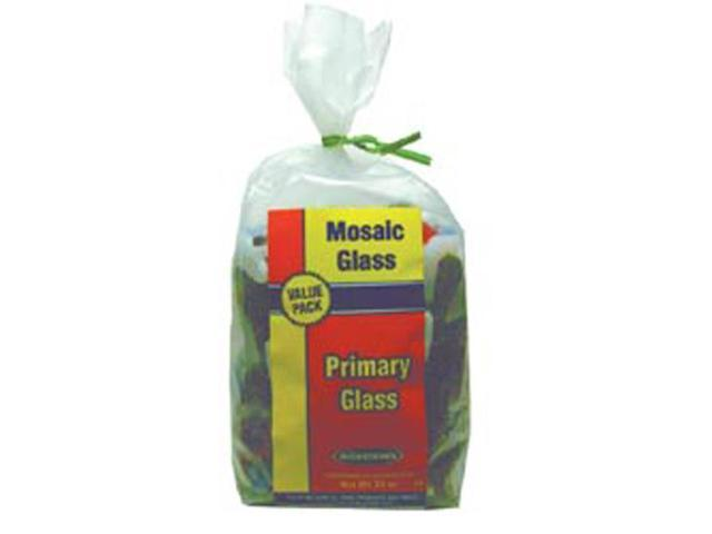 Mosaic Glass 20oz Value Pack-Primary Colors