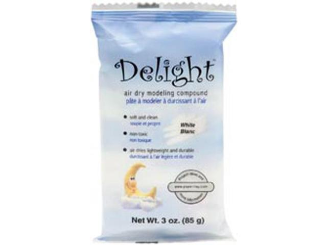 Delight Air-Dry Modeling Compound 3oz-White