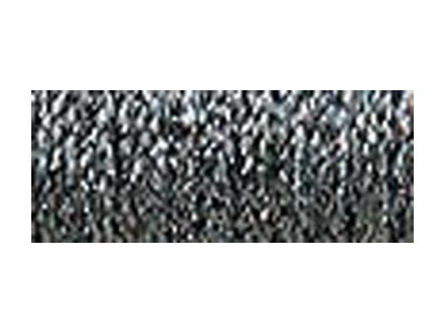 Kreinik Fine Metallic Braid #8 10 Meters (11 Yards)-Hi Lustre Steel Grey