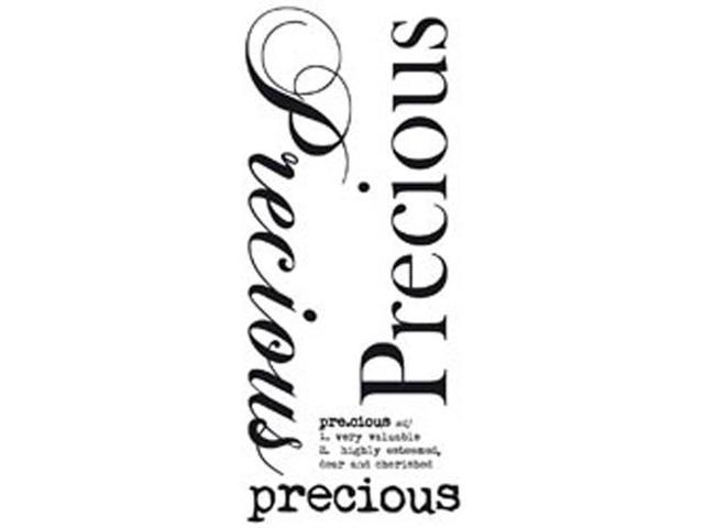 Rub-On Word-Precious