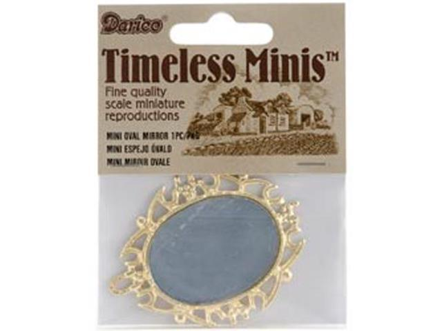 Timeless Miniatures-Oval Mirror