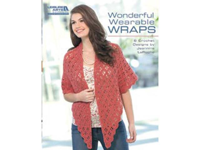 Leisure Arts-Wonderful; Wearable Wraps