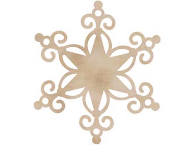 Wood Flourishes-Large Star