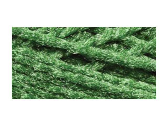 Needloft Craft Yarn 20 Yard Card-Christmas Green