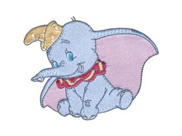 Disney Dumbo Posing Iron-On Applique-