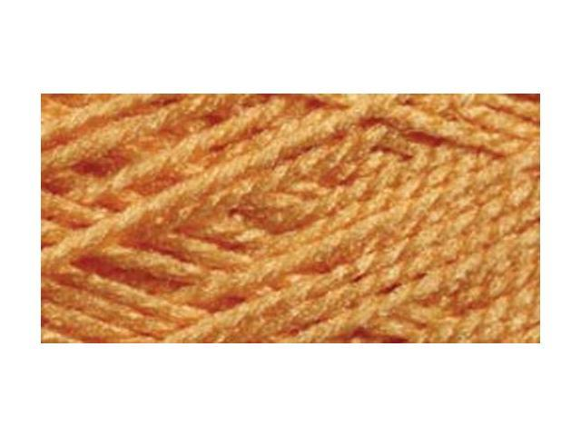 Needloft Craft Yarn 20 Yard Card-Tangerine