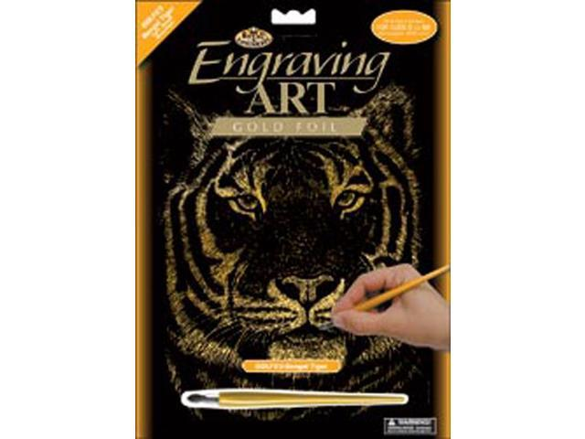 Gold Foil Engraving Art Kit 8