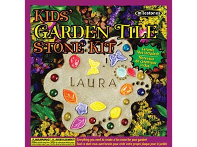 Kids Garden Tile Stone Kit-