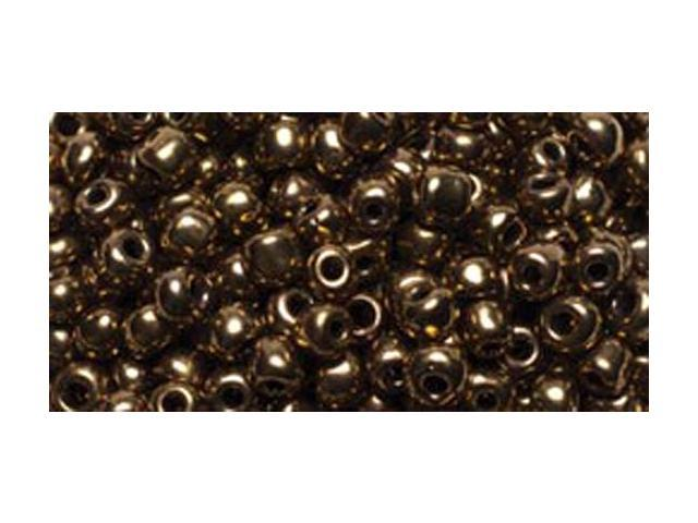 Jewelry Basics Glass Seed Beads 1.1oz-6/0 Metallic Bronze E-Beads