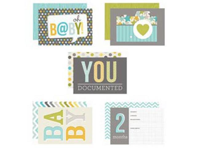 Baby Boy Sn@p! Double-Sided Card Pack 4