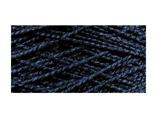 Needloft Craft Yarn 20 Yard Card-Dark Royal Blue
