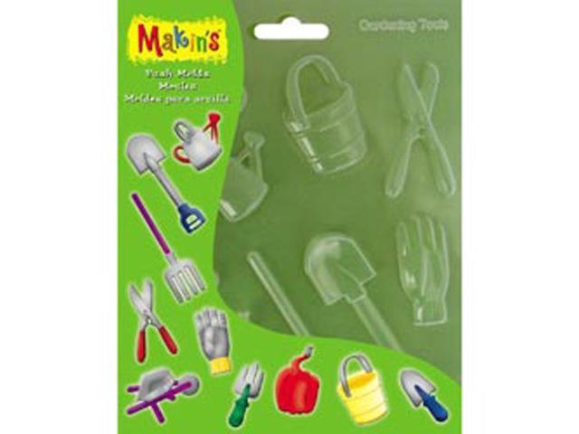 Makin's Clay Push Molds-Gardening Tools