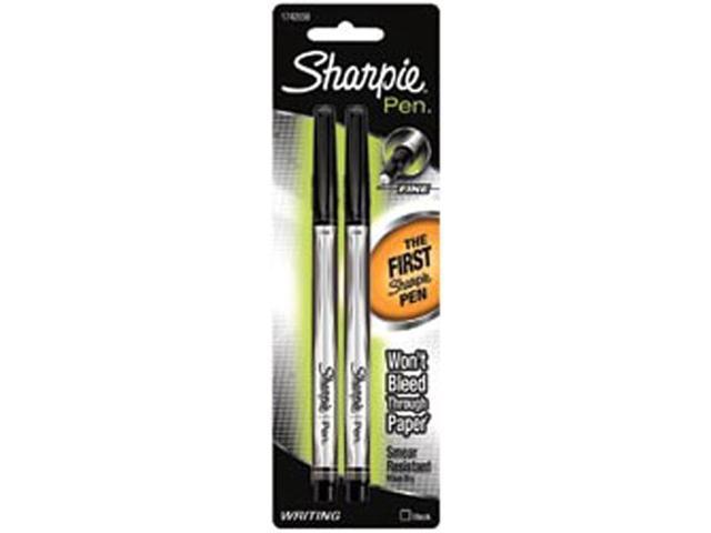 Sharpie Writing Pens 2/Pkg-Black