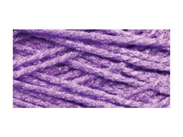 Needloft Craft Yarn 20 Yard Card-Bright Purple