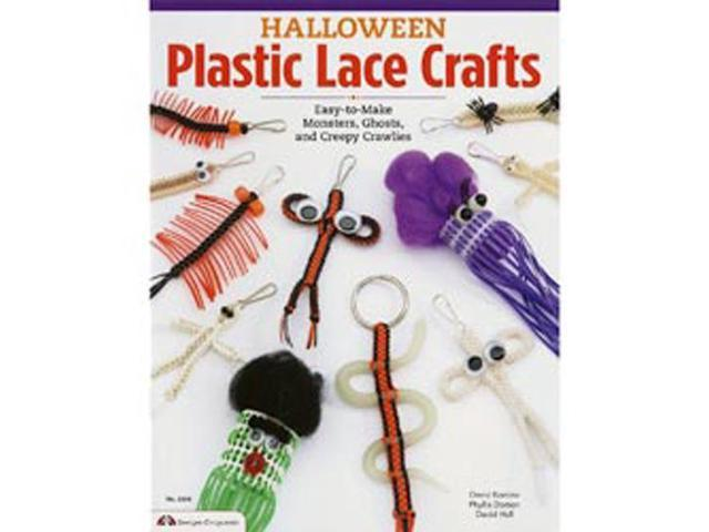 Design Originals-Plastic Lace Crafts For Halloween