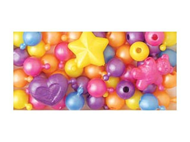 Pop Beads 12mm & 25mm 113g-Pearl Multicolor