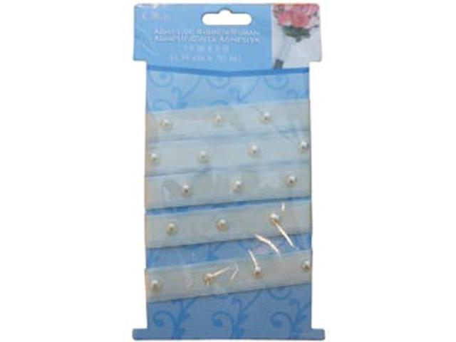 Adhesive Pearl Bouquet Wrap-Ivory