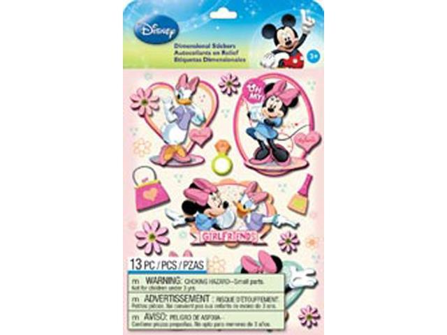 Disney Dimensional Stickers-Mickey Family Girls