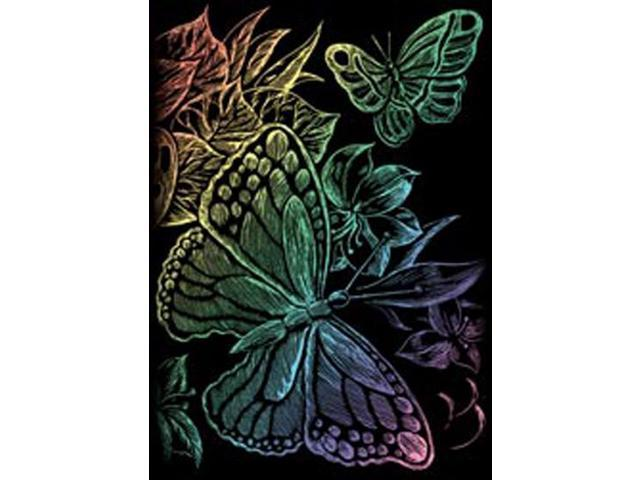 Mini Rainbow Foil Engraving Art Kit 5