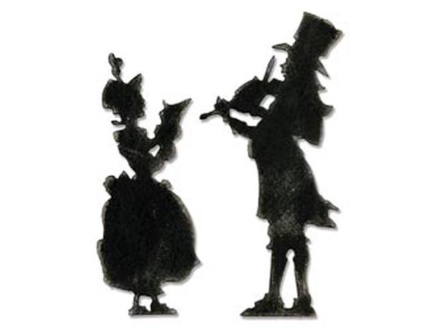 Sizzix Bigz Die By Tim Holtz-Victorian Carolers