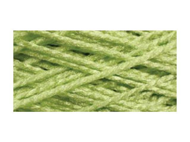 Needloft Craft Yarn 20 Yard Card-Bright Green