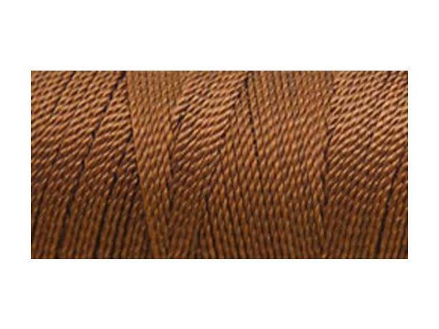 Nylon Thread Size 2 275 Yards-Brown