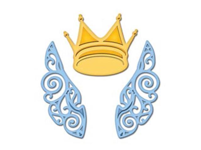 Spellbinders Shapeabilities Die D-Lites-Wings And Crown