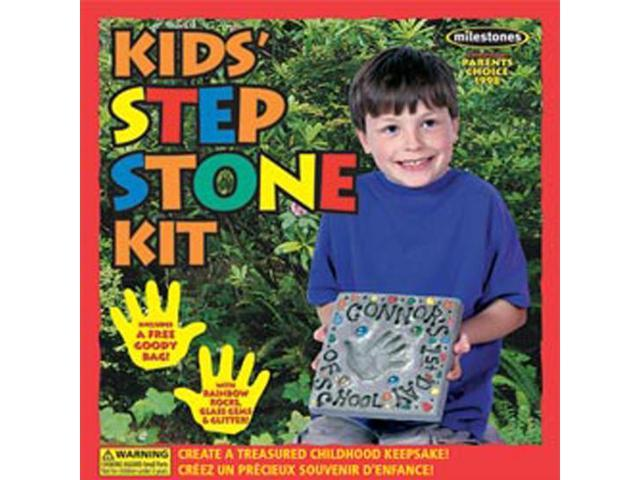 Mosaic Stepping Stone Kit-Kids