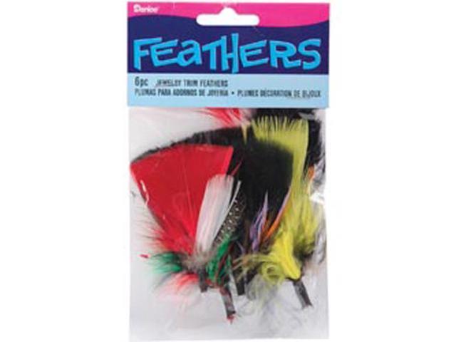 Feathers 6/Pkg-Jewelry Trims
