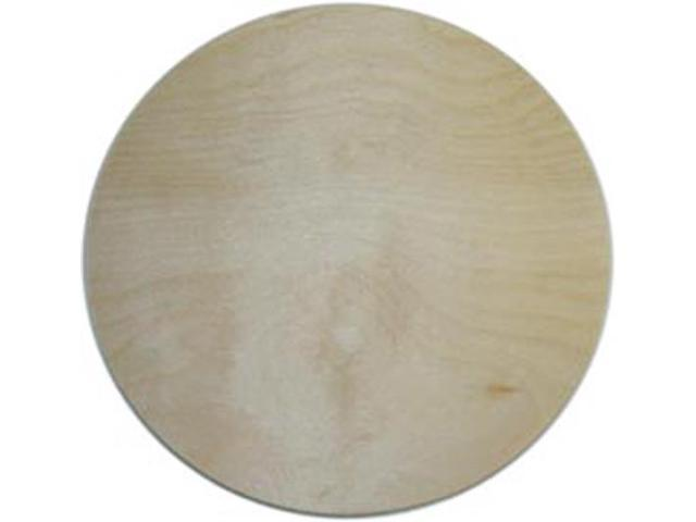 Unfinished Wood Baltic Birch Plaque 1/Pkg-Circle 10